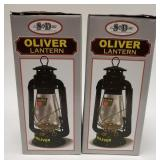 (2) Oliver Lanterns. Both are new in the box.