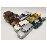 Lot of Die-cast and Plastic Cars and Trucks. Some