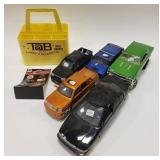 Lot of Die-cast, plastic Cars and more! Cars and