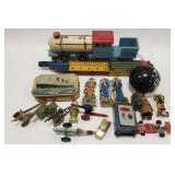 Lot of Toys including anti tank guns, army