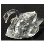 Swarovski Crystal Medium Swan Figurine