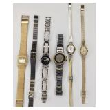 Lot Of 6 Ladies Quartz Watches