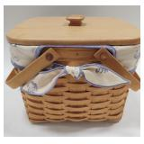 1999 Longaberger Beachcomber Basket