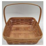 1997 Longaberger Basket With Plastic Liner