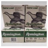 100 Rounds Of Remington 12 Gauge Shotgun Shells