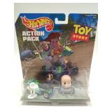 1998 Hotwheels Toy Story Action Pack