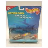 1996 Hotwheels Underesea Adventure Action Pack