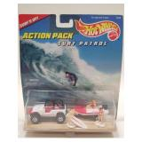 1996 Hotwheels Surf Patrol Action Pack