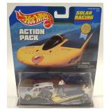 1998 Hotwheels Solar Racing Action Pack