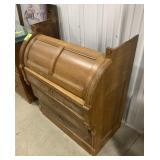 Vintage cylinder desk for repair