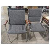 2 Flair designs office chairs