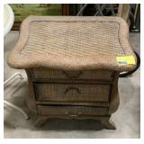Outdoor 3 drawer end table