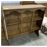 "Wooden shelf for top of dresser measures 41""T x"