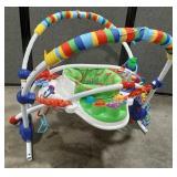 Baby Einstein baby bouncer activity center.