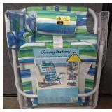 Tommy Bahama Backpack Beach Chair in packaging.