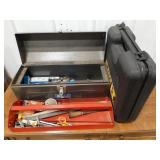"Metal master mechanic professional 19"" tool box,"