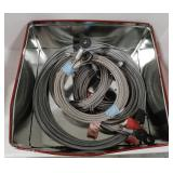 Lot of cables, Todco mil spec cables 115""