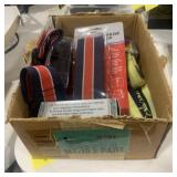 Lot of Luggage Straps and Combination Padlocks