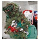 Misc. Lot of holiday Christmas decor