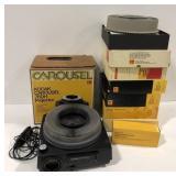 Kodak Carousel 760H Projector and multiple