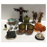 Lot of miscellaneous trinkets and knick knacks.