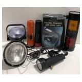 Lot of miscellaneous flashlights