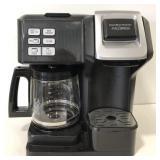 Hamilton Beach FlexBrew coffee pot & Single pod