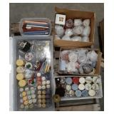 Large lot of misc candles