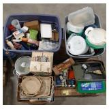 Misc lot of houseware. Home decor, home matinence