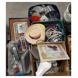 Mic lot of home decor and housewares.