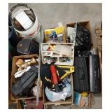 Misc lot of hardware, parts, home matinence