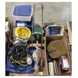 Misc lot of home decor, hardware and garage