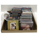 Lot of miscellaneous music CD
