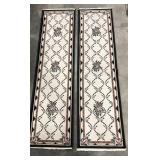Beaulieu Oriental floral area hallway runner rug