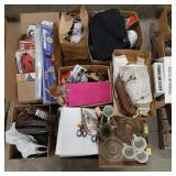 Misc. Lot of home decor, toys, models, car