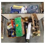 Misc lot of home decor and housewares.