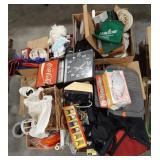 Misc lot of items, novelty items, dishes, toys,