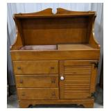 "Vintage Ethan Allen Maple Dry Sink. Measures 46"""