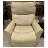 """Taupe Recliner measures 35"""" x 28"""" 31"""""""