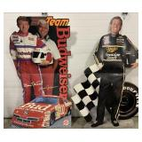 Rusty Wallace and Bill Elliot Cardboard Cut Outs