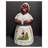 "Ceramic cookie jar. Black Americana ""mammy"""