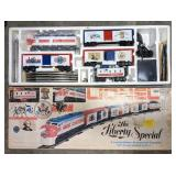 One vintage in box Lionel Train Set. The Liberty