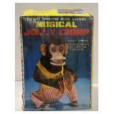 Vintage Musical monkey chimp