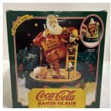 Npos coca-cola Santa Claus mechanical bank