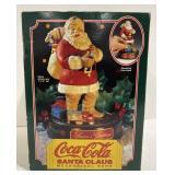Coca-cola santa Clause mechanical bank #1