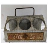 Vintage Coca Cola Aluminum 6 Pack Can Carrier