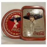 Vintage Coca-cola trays