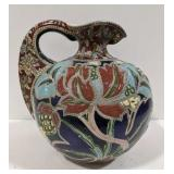 Beautiful Vintage Glazed Stoneware Pitcher