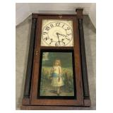 """Riley Whiting """"Little Daisy"""" Hanging clock"""