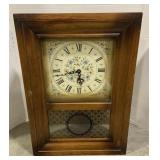 Seth Thomas Plymouth Hollow Collection Wall Clock